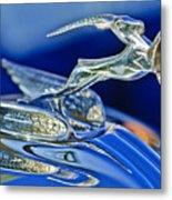 1933 Chrysler Imperial Hood Ornament Metal Print