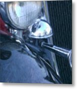 1933 Dodge Headlights And Horn Metal Print