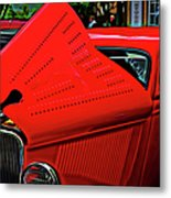 1933 Ford 3 Window Coupe Metal Print