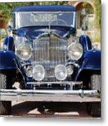1933 Packard 12 Convertible Coupe Metal Print by Jill Reger
