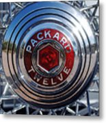 1933 Packard 12 Wheel Metal Print