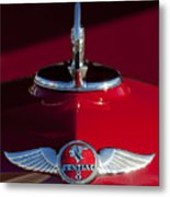 1933 Pontiac Hood Ornament 2 Metal Print