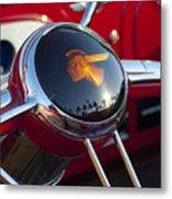 1933 Pontiac Steering Wheel Metal Print