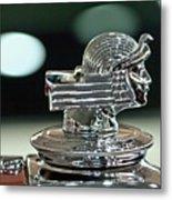 1933 Stutz Dv-32 Dual Cowl Phaeton Hood Ornament Metal Print