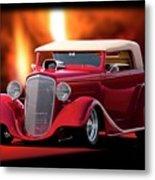 1934 Chevrolet Phaeton Convertible Metal Print