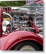 1934 Chevy Truck Motor Metal Print