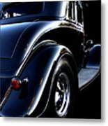 1934 Ford Coupe Rear Metal Print