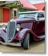 1934 Ford Roadster Hot Rod Metal Print