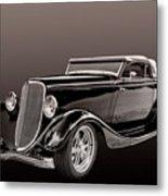 1934 Ford Roadster Metal Print