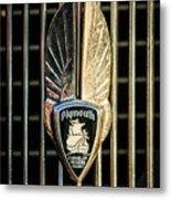 1934 Plymouth Emblem Metal Print