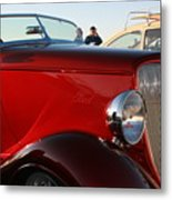 1934 Red Ford Metal Print