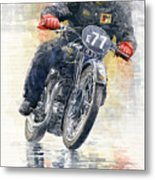 1934 Rudge Ulster Grand Prix Model  Metal Print