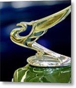 1935 Chevrolet Hood Ornament Metal Print
