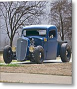 1935 Chevrolet 'hot Rod' Pickup Metal Print