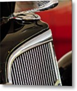 1935 Chevrolet Optional Eagle Hood Ornament Metal Print