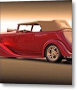 1935 Chevrolet Phaeton II  Metal Print