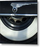 1935 Chrysler Tire Metal Print