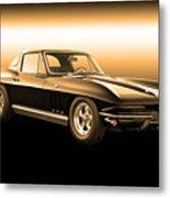 1965 Corvette Stingray Metal Print