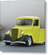 1935 Ford V8 Pickup Metal Print
