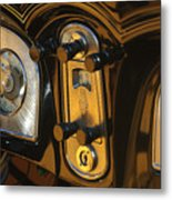 1935 Packard Console Metal Print