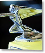 1935 Packard Hood Ornament Metal Print