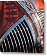 1935 Plymouth Hood Ornament Metal Print