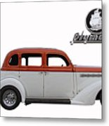 1935 Plymouth With Insignia Metal Print