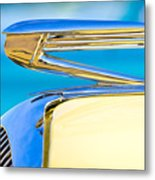 1936 Buick 40 Series Hood Ornament Metal Print