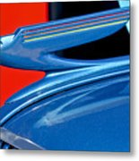 1936 Chevrolet Hood Ornament 2 Metal Print