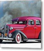 1936 Chevrolet Master Deluxe Sedan Metal Print