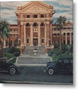 1936 Era Nueces County Courthouse Metal Print