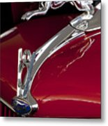 1936 Ford 68 Pickup Hood Ornament Metal Print