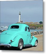 1936 Ford Coupe 'shoreline' 1 Metal Print