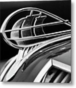 1936 Plymouth Sedan Hood Ornament 2 Metal Print