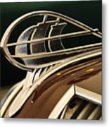 1936 Plymouth Sedan Hood Ornament Metal Print
