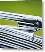 1936 Pontiac Hood Ornament 3 Metal Print