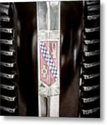1937 Buick Model 91f Formal Sedan Grille Emblem -0783ac Metal Print