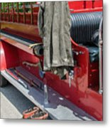 1937  Chevy Fire Engine Metal Print