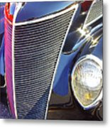 1937 Ford 2 Door Sedan Metal Print