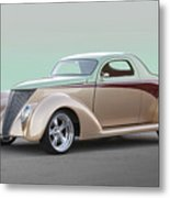 1937 Ford 'high End' Coupe I Metal Print