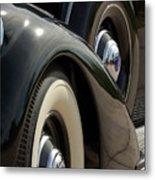 1937 Lincoln K Brunn Abstract Metal Print