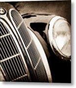 1938 Bmw 327-8 Cabriolet Grille Emblem -1526s Metal Print