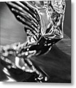 1938 Cadillac V16 Hood Ornament Metal Print