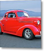 1938 Chevrolet 'all Business. Coupe Metal Print