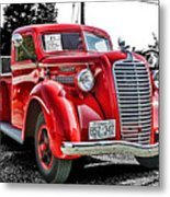 1938 Diamond T Hdr Metal Print