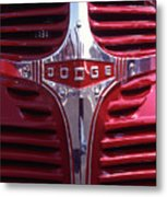 1938 Dodge Pickup Front End Metal Print