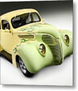 1938 Hot Rod Ford Coupe Metal Print