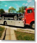 1938 Studebaker Cab Over Metal Print
