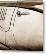 1938 Talbot-lago 150c Ss Figoni And Falaschi Cabriolet Side Door Handle -1511s Metal Print