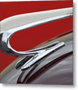 1938 Willys Aftermarket Hood Ornament Metal Print